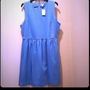 J. Crew Blue Dress